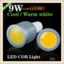 10pcs lot COB Spotlight GU10 E27 MR16 E14 B22 E26 9W White Warm White COB LED Light Bulbs 990 lumens led Spotlight