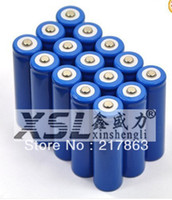 Wholesale Free shopping li ion rechargeable battery MAH FOR LED Flashlight LED Torch