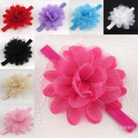 Hair Sticks Lace Geometric New arrive Hair accessories,Gathered Chiffon Ballerina Twirl Flowers,Solids Chiffon Shabby Flowers