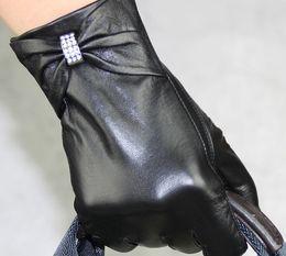 ladies rithstone Genuine Leather Gloves skin gloves LEATHER GLOVES #3140