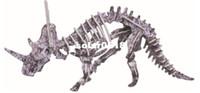 Wholesale D three dimensional puzzle dinosaur models Set models A084