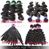 Wholesale A Guarrantee Cheap Unprocessed Virgin Indian Weft Hair Bundle Extension Bundle Body Wave Loose Wave Bady Curly Spiral Curly Hair Weaving