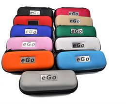 2013 Hottest Ego Case with Zipper L M S Size Ego Box Ego Bag for Electronic Kit Cigarette 10 Colors
