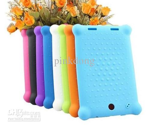 Buy silicon rubber gel shock proof case cover skin shell lenovo Lepad A2107 A2207 tablet
