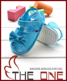 Wholesale Children Shoes Baby First Walker Shoes Toddler Shoes Baby Cotton Shoes Toddler Sandals Denim blue shoes for years old cute shoes ru