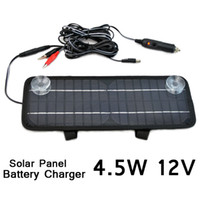 Wholesale Multi Purpose Car Solar Panel solar cell solar back sheet Battery Charger Car RV V W