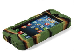 Wholesale RGBmix Panzer Armored Vehicle Case Extreme Protective Hybrid Layer Case for iPhone S S S Factory Sale Directly