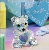 bear figurines - Blue Choice Crystal Collection teddy bear figurines wedding favors birthday party gifts centerpieces accessories baby shower