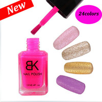 Wholesale New Only Kleancolor BK Quick Liquid Sand Bulk Nail Polish Lacquer Glitter Airbrush ML MY