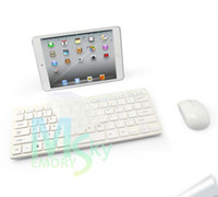 Wholesale Hot Sale Wireless Keyboard and Mouse GHz Combo White for Desktop Computer Accessories with Protective Cover