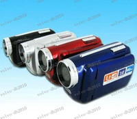 Wholesale LLFA2223 Falsh Sale Cheap MP inch Digital Video Camera x Zoom Flash Light DV139 Support Multi language