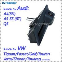 Wholesale Color CCD HD car trunk handle reverse rear camera for Audi A4 A5 S5 Q5 VW Passat Tiguan Golf Touran Jetta Sharan Touareg