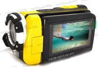Wholesale 3 inch Screen MP FULL HD P Waterproof Digital Video Camera Camcorder HDMI Yellow MYY5815