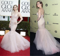 Wholesale Custom Made Sexy Mermaid Amy Adams Mermaid Formal Dress at Golden Globe Awards Red Carpet Celebrity Dresses