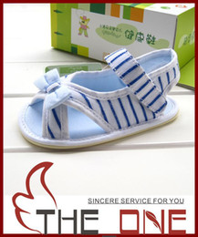 Wholesale cute sandals sandals Children Baby First Walker Shoes Baby Cotton Shoes Toddler butterfly Sandals for0 years old size CM
