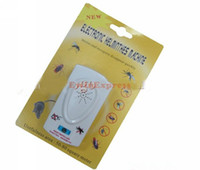 Wholesale 200x New Ultrasonic Anti Mosquito Insect Pest Mouse Repellent Electro Repeller