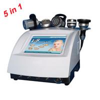 Wholesale LED BIO Microcurrent Cavitation RF Slimming Machine for Beauty Salon Spa Use Khz Ultrasonic Liposuction Cavitation Equipment In