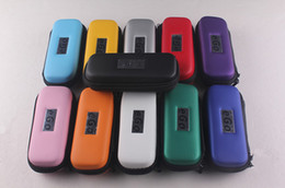Colorful ego carrying case ecig box with ego logo eGo s-size Carry Case in 11 colors zipper case packing