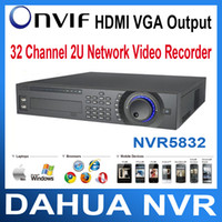 NVR5832 Embedded LINUX 1 HDMI, 1 VGA, 1 TV H.264 Dahua NVR 32CH HDMI ONVIF 2U IP Network Video Recorder Standalone NVR5832 Support iPhone, iPad, Android ect