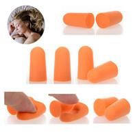 Wholesale 50Pairs Foam Sponge Earplug Ear Plug Keeper Protector Travel Sleep Noise Reducer CHeap Free Ship HZTJ0005