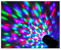 New Rotating RGB LED 3D Effect Stage Light Party DJ Disco La...