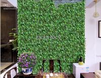 Wholesale Length of cm Artificial Silk Simulation Climbing Vines Green Leaf Ivy Rattan for Home Decor Bar Restaurant Decoration