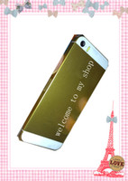 Wholesale 1pcs new arrival Non working dummy phone for limited edition gold iphone s free ship