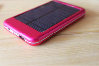 Wholesale Send free FedEx mA Apple iPhone4S HTC Samsung mobile power mobile charger solar charger