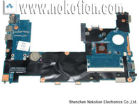 Wholesale On sale laptop motherboard for HP mini Intel N455 integrated DDR2 Fully tested off shipping
