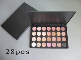 Wholesale Professional Shimmer amp Matte color Eye shadow Palette Colors Nude Eyeshadow Makeup Kit Free DHL Shipping