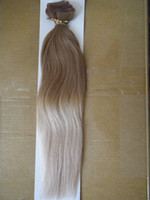 glue in hair extensions - 18 quot quot color T60 g GLUE SKIN TAPE IN ombre two tone dip dye T color hair extensions DHL shipping