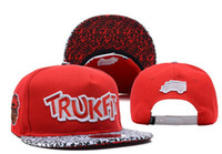 Wholesale Trukfit TR Logo Snapback Red new arrive Caps Custom Any your own Design beanies Snapbacks Classical Snap Back Free shiping