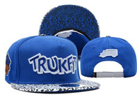 Wholesale Trukfit TR Logo Snapback Blue new arrive Caps Custom Any your own Design beanies Snapbacks Classical Snap Back Free shiping