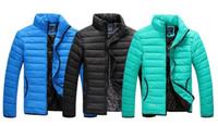 Wholesale New Brand Men Winter Fashion Down Coat Tracksuit Leisure Wear Outwear