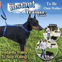 The Instant Trainer Leash Trains To Stop Pulling Fits 30 lbs...