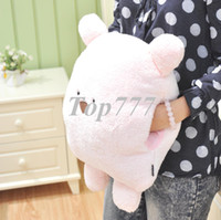 Wholesale Rabbit big hand warmer pillow cushion beenz bear interpose and pillow plush toy christmas gift