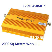 Wholesale Newest UP TO square meter work CDMA MHZ Mobile Phone Signal Amplifier Repeater Booster