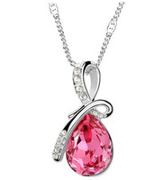 Wholesale 2013 Crystal jewelry manufacturers selling Austrian crystal necklace