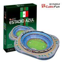 Wholesale DIY D Paper Puzzle jigsaw Model Children Eductional Toy Enlighten toy Christmas Gift Famous Building Azul Stadium