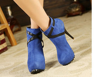Wholesale 2013 New style lady short boots Ultra high and waterproof boots