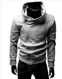 Wholesale Mens Hoodies High Collar Men s Top Brand Men s Dust Hoodies Clothes over outwear M L XL XXL B153