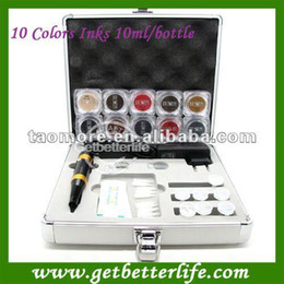 Wholesale Permanent Tattoo Makeup kit With Pigment ink for eyebrow makeup