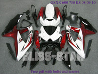 Wholesale Free gift with bolts and screws fits for GSXR K8 GSXR K8 Fairing ZS34