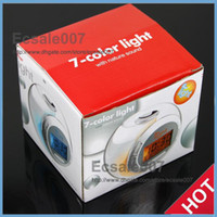 Wholesale Fashion New Color Changing Light Alarm Clock with Nature Sound