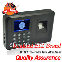 Wholesale Biometric Fingerprint Time Clock Recorder Attendance Employee Digital Machine Electronic Standalone Punch Reader