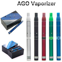 Wholesale Kingfish Electronic Cigarette E Cigarette Ago G5 Vaporizer pen dry herb Ego kit ago g5 atomizer Ago lcd screen battery Factory price