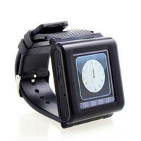 <1.8 1.7 - AK812 Ultrathin Inch Fashion Wrist Watch Phone Touch Screen Bluetooth SOS Function DHL