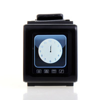 No Smartphone 1.7 - 30pcs DHL AK812 Ultrathin Inch Fashion Wrist Watches Phone Touch Screen Bluetooth SOS Function