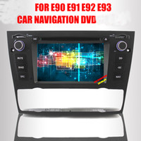 Wholesale 7 Auto car dvd player for BMW E90 E91 E92 E93 built in GPS Bkuetooth Radio RDS MP3 MP4 CD Steering Wheel Control