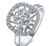 Wholesale 14K GOLD DIAMOND WOMEN RING NECKLACE CERTIFIED CT DIAMOND TWO WAYS TO WEAR SOLID WHITE GOLD NATURAL DIAMOND ENGAGEMENT JEWELRY XONR07B